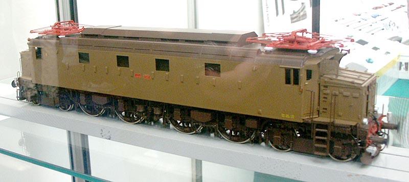 La Fs E 428 in scala 0 della Lemaco.