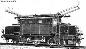 Artuffo E 570 trifase foto d'epoca