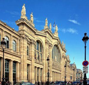 La stazione di Paris - Gare du Nord - Étoile du Nord
