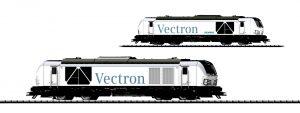 Märklin Scala H0 / Trix Scala H0 - Locomotiva Diesel-elettrica Gruppo 247 (Vectron DE) della Siemens Mobility, Monaco.