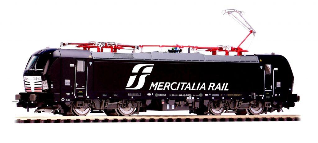 Piko Scala H0 - Locomotiva elettrica Siemens Vectron di Mercitalia Rail delle Ferrovie dello Stato.