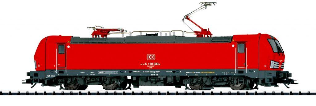 Trix Scala H0 -Locomotiva elettrica Gruppo 170 della DB Schenker Rail Polska S.A. in Polonia.