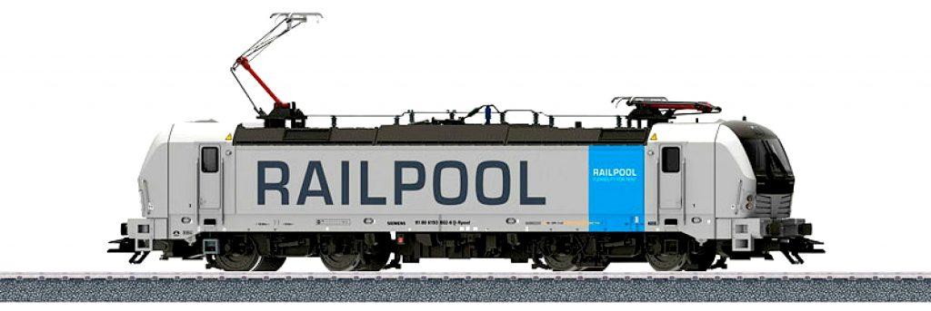 Märklin Scala H0 / Trix Scala H0 - Start Up - Locomotiva elettrica Gruppo 193 della Railpool S.r.l., Monaco. - PREZZO VANTAGGIOSO