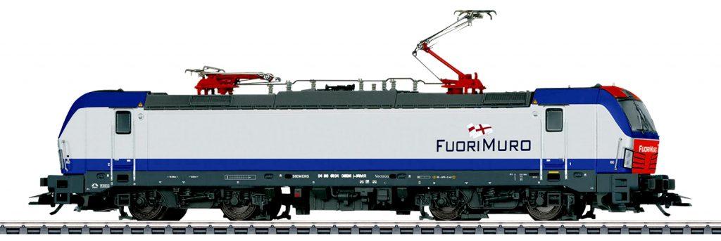 Märklin Scala H0 / Trix Scala H0 - Locomotiva elettrica Gruppo 191 della ditta FuoriMuro, Italia.