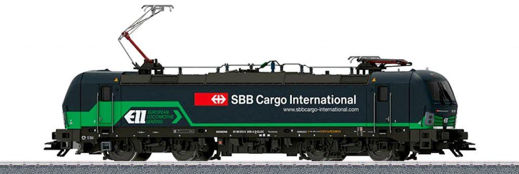 Märklin Scala H0 - Locomotiva elettrica Gruppo 193 della ELL Austria S.r.l., noleggiata alla SBB Cargo International.