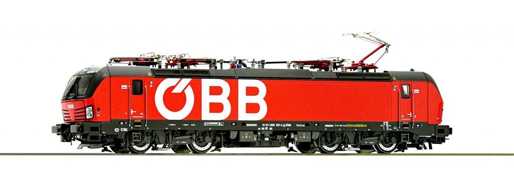 Locomotiva elettrica Gruppo 1293, ÖBB: le ferrovie austriache hanno ricevuto la prima Siemens Vectron a febbraio 2018