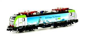 Hobbytrain Scala N - Locomotiva elettrica Vectron Re 475 404 BLS Cargo con sonoro.