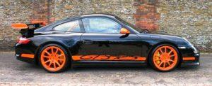 La Porsche 997 GT3 RS: una bomba.
