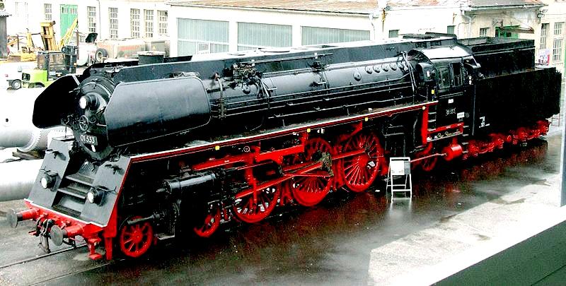 La DR Gruppo 01.5 conservata presso la Società Austriaca di Storia Ferroviaria.