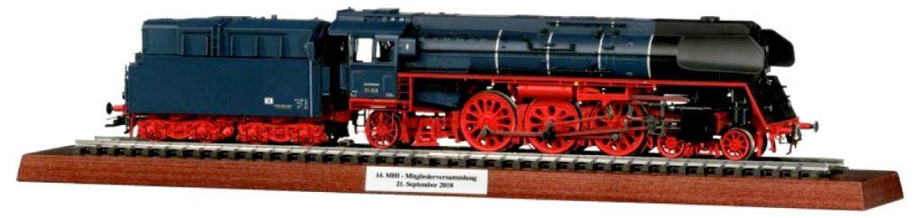 Il modellino Märklin 39208 della DR Gruppo 01.5 in scala H0 . Da Artuffo la trovi a 499,99 €