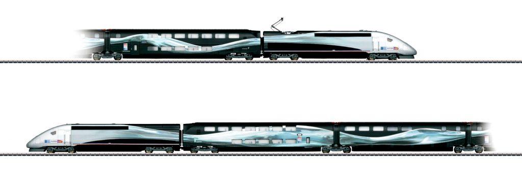 Il modellino Märklin TGV Duplex 37797 - Clicca per acquistare