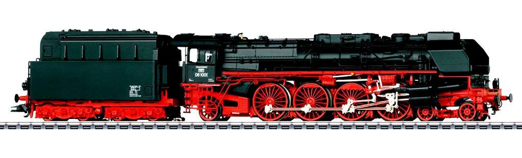 La Gruppo 08 firmata Märklin - cod. 39242.