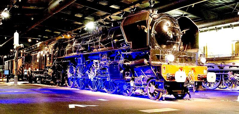 La 241 A conservata alla Cité du Train di Mulhouse, il più grande museo ferroviario d'Europa.