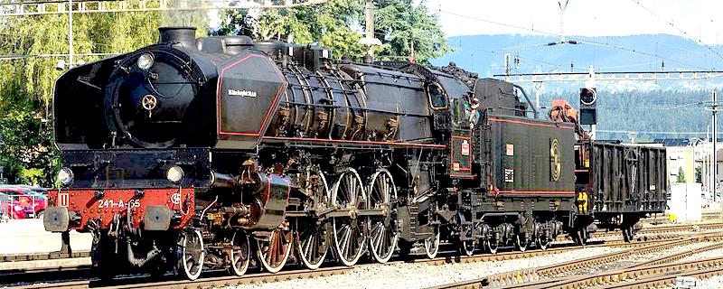 La 241 A 65 conservata in Svizzera.