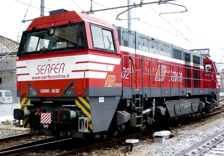 Per il modello Märklin della G2000 clicca sulla foto!
