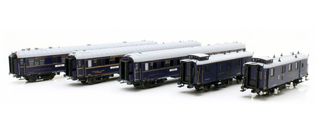 LS Models 99004 Carozze Treno Blu